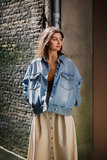 WON HUNDRED ALANNAH DENIM JACKET_