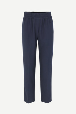 SAMSOE & SAMSOE SMILLA PANTS NAVY