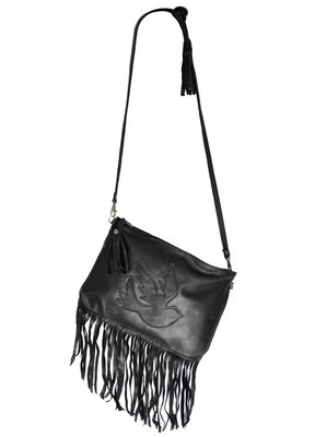 Clutchbag Rockin' Items fringe Black