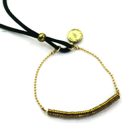 Bracelet Blackbird Gold By Pipit