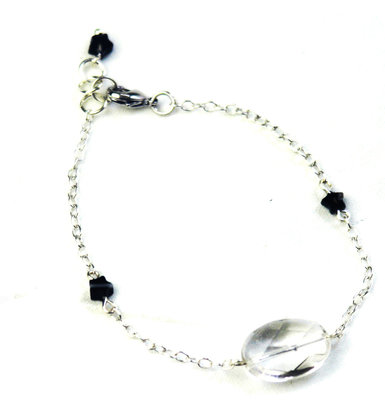 Bracelet Crystal Star Silver By Pipit