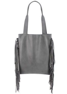 Shopper Grey Fringes Rockin'Items