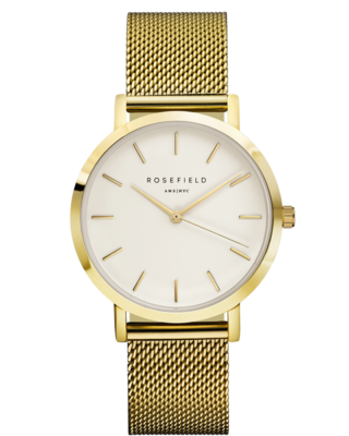 ROSEFIELD WATCH THE MERCER WHITE GOLD