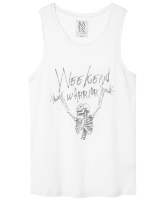 ZOE KARSSEN LOOSE FIT TANK WEEKEND WARRIOR