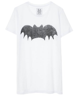 ZOE KARSSEN BAT LOOSE FIT TEE
