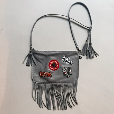 Rockin'Items Clutchbag Rock'n'Roll Grey 16