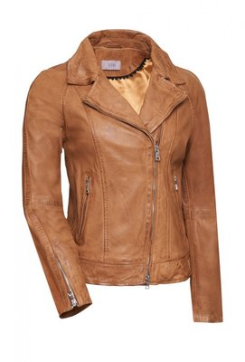 IBANA  LEATHER JACKET VANILLE CAMEL
