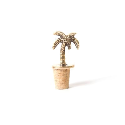 A-La  Palmtree Bottle Stopper Corc