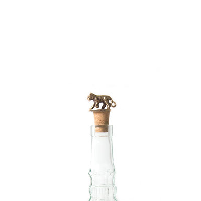 A-La  Leopard Bottle Stopper Corc