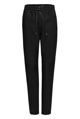 IBANA BLACK LEATHER PANTS GERMAINE