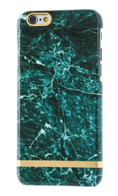 RICHMOND & FINCH GREEN MARBLE IPHONE CASE