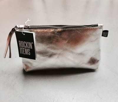 Rockin' Items Roxy Clutch Silver