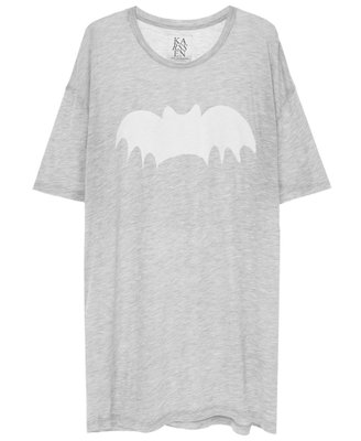 ZOE KARSSEN BAT LOOSE FIT TEE GRIJS