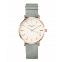 ROSEFIELD WATCH THE WEST VILLAGE MINT GREY ROSE GOLD