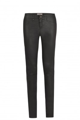 IBANA BLACK LEATHER PANTS TARTE TATIN