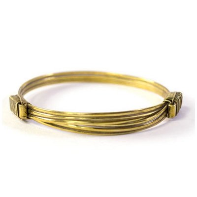 A-La  Brass Elephant Hair Bracelet