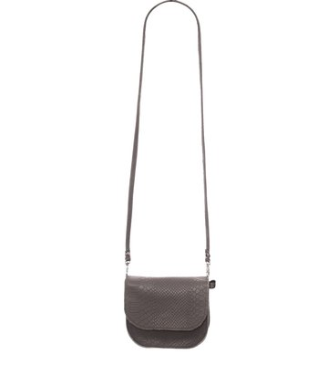 Rockin' Items Billy Bag  Grey Snake