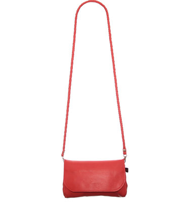 Big Rockin' Items Bella Bag Red Vlechthengsel