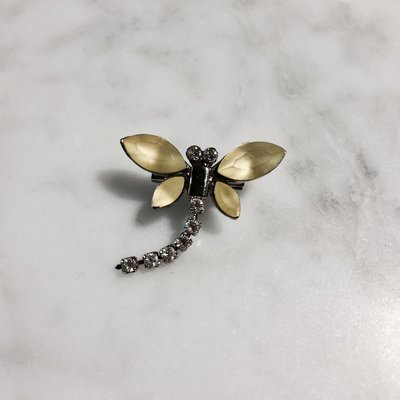 BROCHE VINTAGE DRAGONFLY