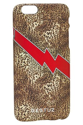 I-PHONE CASE GESTUZ LIGHTNING LEOPARD