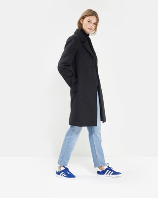 MOSS COPENHAGEN COMO WOLLY JACKET NAVY