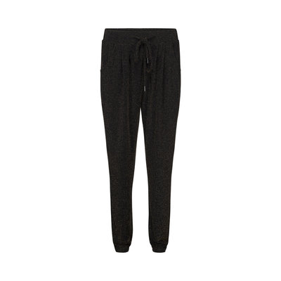 SOFIE SCHNOOR  PANTS BLACK GOLD