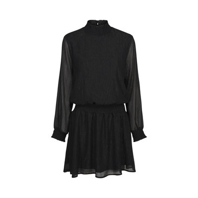 SOFIE SCHNOOR  DRESS BLACK GLITTER