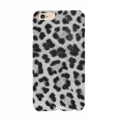 PHONE CASE MIM GREY LEOPARD