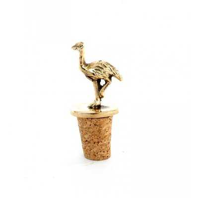 A-La  Struisvogel  Bottle Stopper Corc