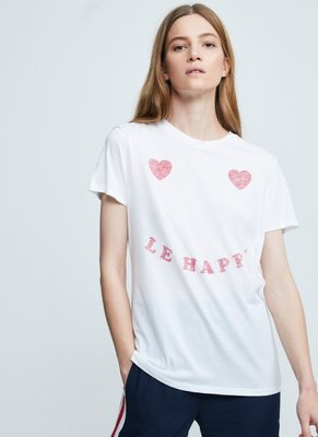 ZOE KARSSEN LE HAPPY  TEE