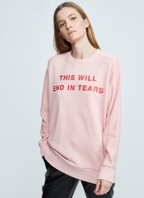 ZOE KARSSEN THIS WILL END IN TEARS SWEATER