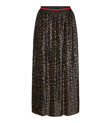 CO' COUTURE FUNKY PLISSE  SKIRT