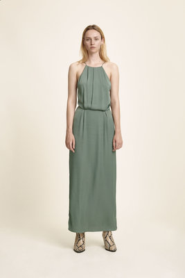 SAMSOE & SAMSOE WILLOW DRESS GREEN