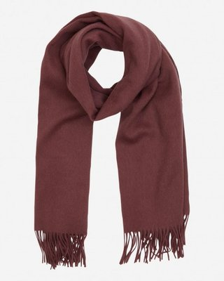 MOSS COPENHAGEN NIA SCARF CATAWBA GRAPE