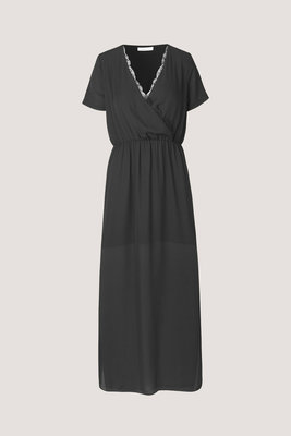 SAMSOE & SAMSOE DORIS DRESS ZWART