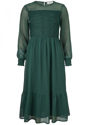 MODSTROM TINLEY DRESS GREEN CHECK