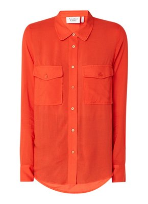 ANOTHER LABEL SHIRT RED