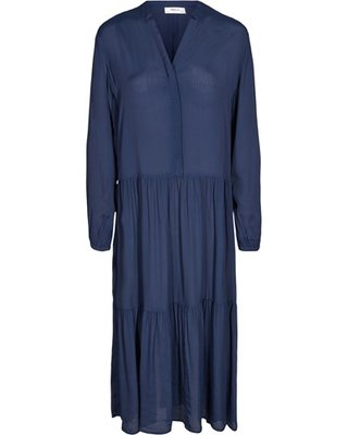 MOSS COPENHAGEN KITTA MIRAM NAVY DRESS