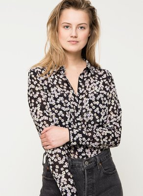ANOTHER LABEL BLOUSE FLOWERPRINT