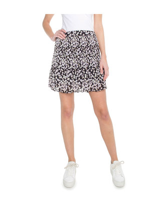 ANOTHER LABEL SKIRT FLOWERPRINT