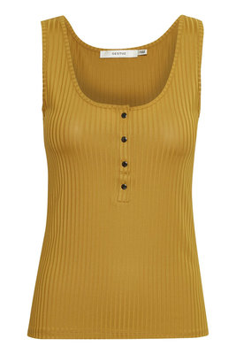 GESTUZ ROLLO TANK TOP YELLOW