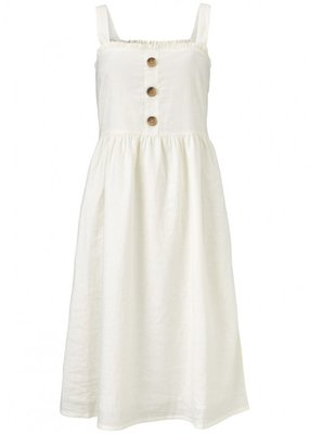 MODSTROM ORCHID DRESS WHITE