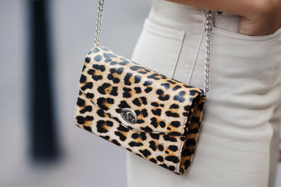 BECKSONDERGAARD LEORA PILLY BAG LEOPARD