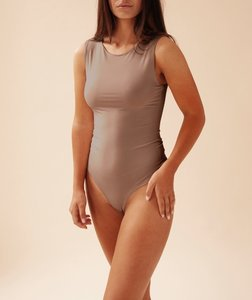 BASIC CREW NECK BODY BY OLCAY TAUPE
