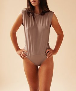 PADDED BODY BY OLCAY TAUPE