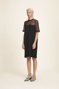 SAMSOE & SAMSOE EMILY DRESS ZWART