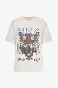 ANINE BING TIGER TEE WHITE